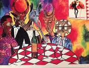 Caberet Du Moulin Rouge Watercolor
